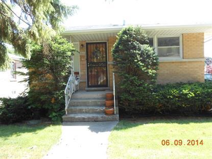 1521 S Spencer Avenue Berkeley, IL MLS# 08643661