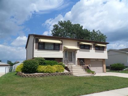 7654 W 165th Place Tinley Park, IL MLS# 08714724
