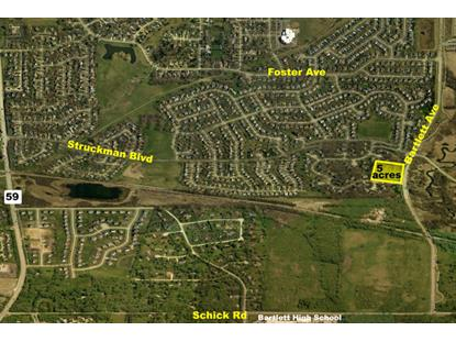 0 NW Keim Trail & Bartlett Avenue Bartlett, IL MLS# 08792964