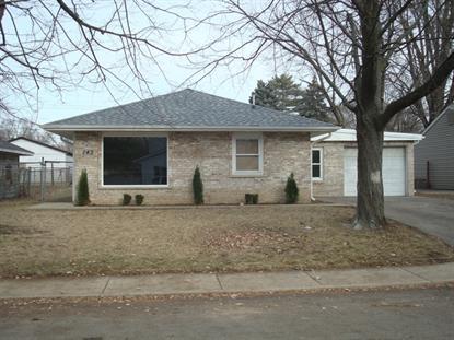 143 Birch Street Carpentersville, IL MLS# 08798202