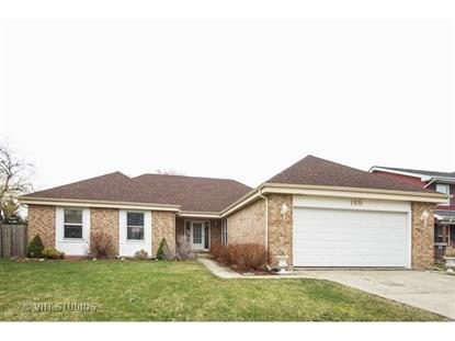 169 Jackson Lane Bloomingdale, IL MLS# 08888963