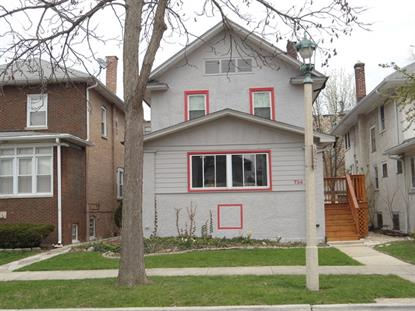 734 S HUMPHREY Avenue Oak Park, IL MLS# 09000575