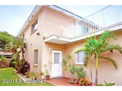 247 S Brevard Avenue Cocoa Beach, FL MLS# 696279
