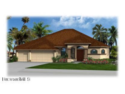 984 SE Easterwood Court Palm Bay, FL MLS# 696670