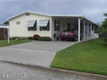830 Vireo Drive Barefoot Bay, FL MLS# 707426