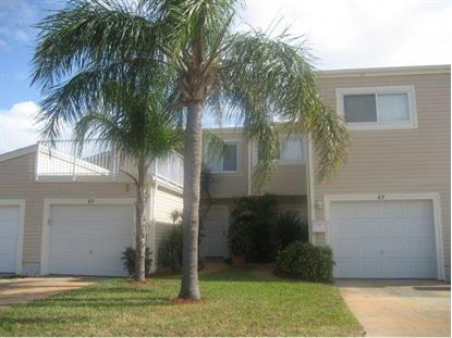 65 Emerald Court Satellite Beach, FL MLS# 710226