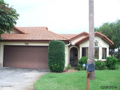 615 Manatee Drive Satellite Beach, FL MLS# 713753