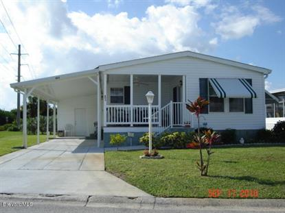 403 Hawk Drive Barefoot Bay, FL MLS# 721117