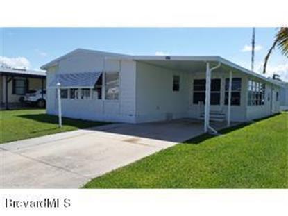 1219 Calusa Drive Barefoot Bay, FL MLS# 727922