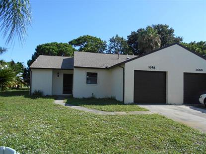 1698 Parakeet Court Melbourne, FL MLS# 730418