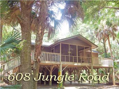 608 JUNGLE RD  Edisto Beach, SC MLS# 1418539