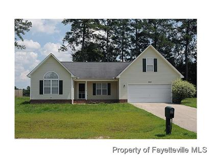292 SANFORD COURT  Raeford, NC MLS# 429635
