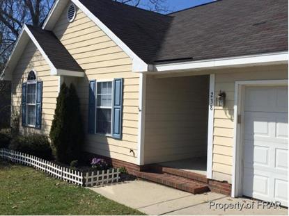 238 PROCLAMATION DR  Raeford, NC MLS# 437411