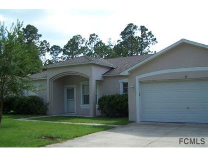 16 Zither Court  Palm Coast, FL 32164 MLS# 208333