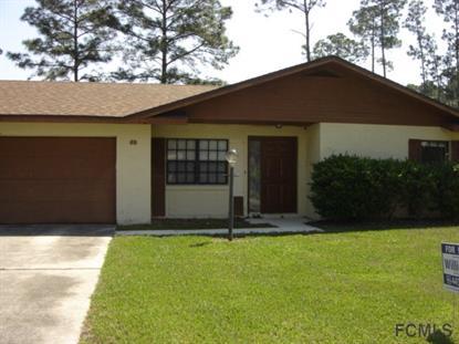 69 Beckner Ln  Palm Coast, FL 32137 MLS# 208773