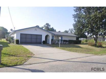 36 Felter Lane  Palm Coast, FL 32137 MLS# 209656
