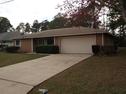 81 Braddock Ln  Palm Coast, FL 32137 MLS# 214101