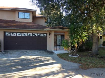 31 Sunrise Villas Ln  Palm Coast, FL 32137 MLS# 215411