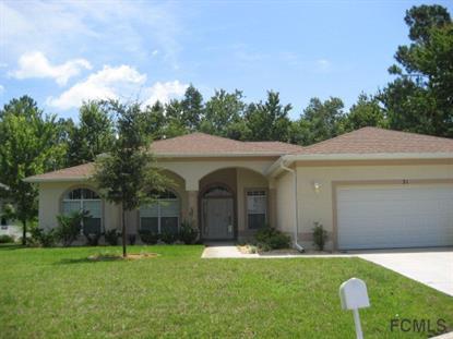 Address not provided Palm Coast, FL MLS# 216347