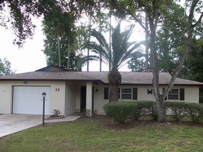 29 Foxhall Ln  Palm Coast, FL 32137 MLS# 223288
