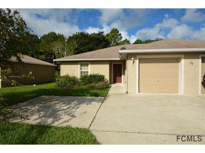 28 Raintree Pl  Palm Coast, FL 32164 MLS# 223580