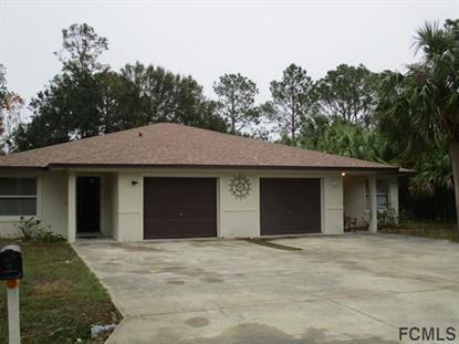 43 Prosperity Lane  Palm Coast, FL 32164 MLS# 226347