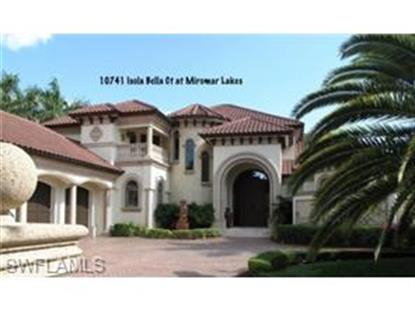 10741 Isola Bella CT Fort Myers, FL MLS# 214036652