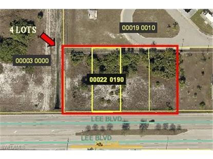 3506 Lee BLVD Lehigh Acres, FL MLS# 214049139