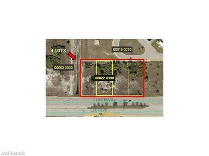 3506 Lee BLVD Lehigh Acres, FL MLS# 216019683