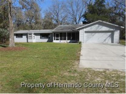 22649 Jacobson Rd.  Brooksville, FL MLS# 2150622