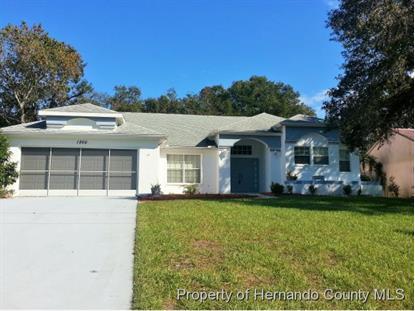 1266 TYLER AVE  Spring Hill, FL MLS# 2154234