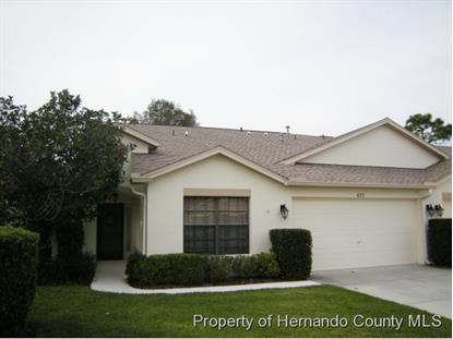 425 CANDLESTONE CT  Spring Hill, FL MLS# 2157575