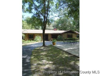 22460 Chenoak Road  Brooksville, FL MLS# 2159921
