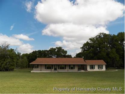 21215 SNOW HILL RD  Brooksville, FL MLS# 2160163