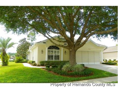 5601 LEGEND HILLS LN  Spring Hill, FL MLS# 2161101