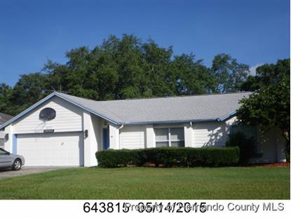 3375 DOW LN  Spring Hill, FL MLS# 2162342