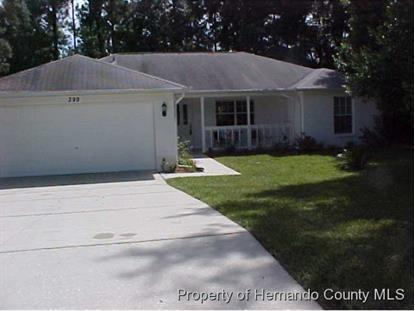 399 FAIRBANKS RD  Spring Hill, FL MLS# 2164522
