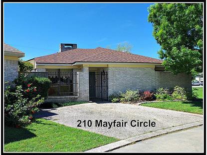 210 Mayfair Circle  Wharton, TX MLS# 98619423