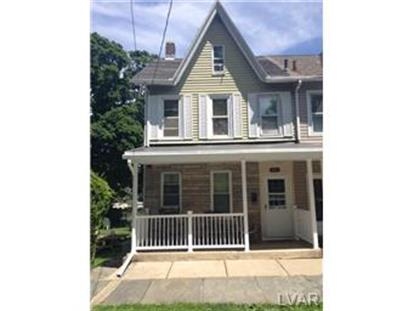931 West Lincoln Street Easton, PA MLS# 470686