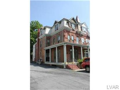 1109 West Walnut Street Allentown, PA MLS# 476539