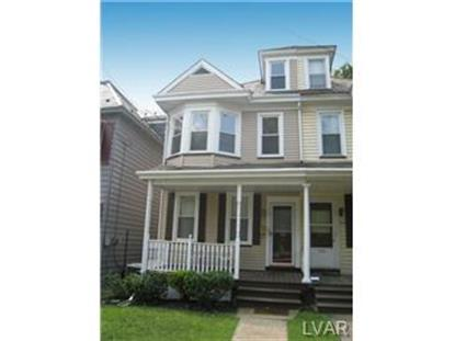 826 SPRING GARDEN  Easton, PA MLS# 476625