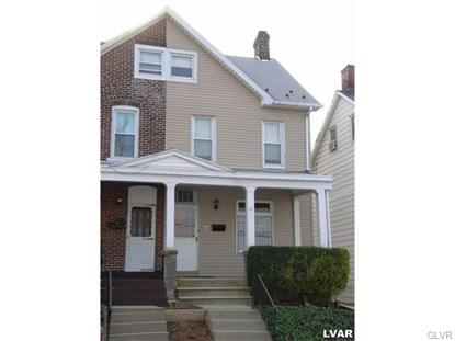 820 South Hall Street Allentown, PA MLS# 494744