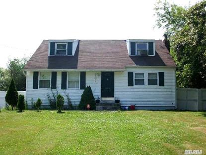 536 Donegan Ave East Patchogue, NY MLS# 2686132