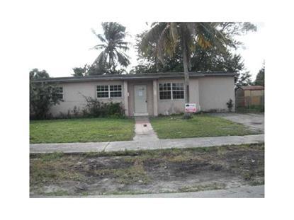 4020 NW 193rd St Miami Gardens, FL MLS# A10014370