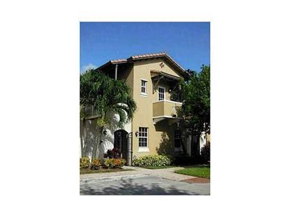 535 SW 146TH TE # 3-8 Pembroke Pines, FL MLS# A10025785