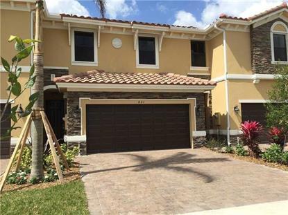 821 E Village Cir # 821 Davie, FL MLS# A10057154