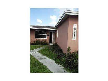 19221 NW 34 CT Miami Gardens, FL MLS# A1920164