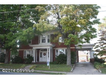 123 NORTH 11TH STREET  Sunbury, PA MLS# 20-60974