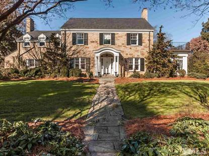 2419 Anderson Drive  Raleigh, NC MLS# 1985775
