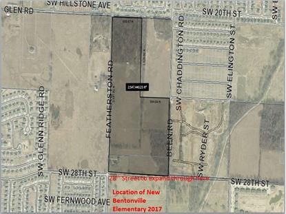 2801 Featherson  RD Bentonville, AR MLS# 1007922